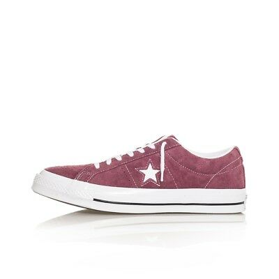 Scarpe Uomo Converse One Star Ox Og Suede 158370C Man Sneakers Tribes Red