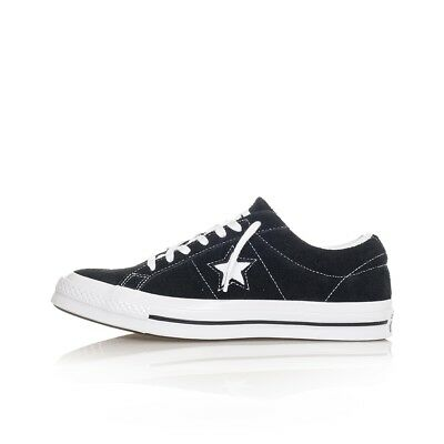Scarpe Uomo Converse One Star Ox Og Suede 158369C Sneakers Man Tribes Negro