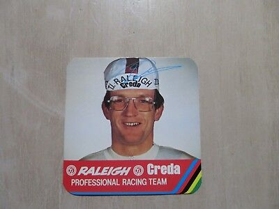 1970,s sticker decal TI Raleigh Creda Cycling Team JAN RAAS , Holland
