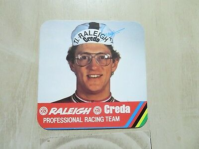 1970,s sticker decal TI Raleigh Creda Cycling Team Gerrie KNETEMAN , Holland