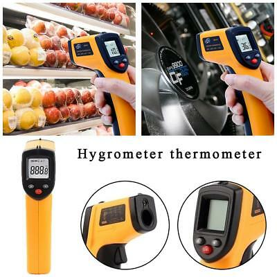Thermomètre Digital Sans Contact LCD Infrarouge Laser Thermometre Infrarouge A