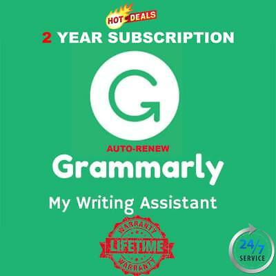 Grammarly Premium Subscription 2 Year | With Warranty | Fast Delivery-BEST OFFER