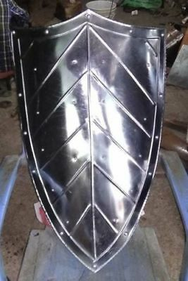 MEDIEVAL-KNIGHT-SHIELD-Handcrafted-Battle-Armor-Medieval Shield For Halloween