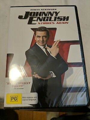 Johnny English Strikes Again Dvd (2018) New & Sealed- Free Postage! Region 4