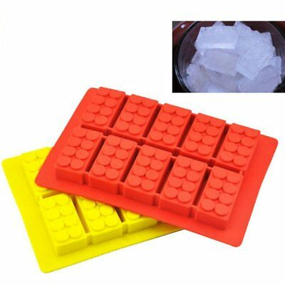 Building Blocks Molds Ice Cube Tray Silicone Mold Candy Moulds Chocolate Mold QG