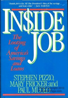 Inside Job W42 by PIZZO Hardback Book The Cheap Fast Free Post