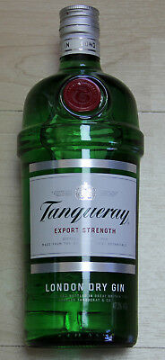 1 Flasche Tanqueray London Dry Gin 47,3%vol 1 Liter