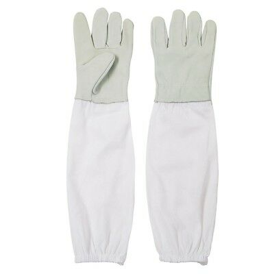 1 Pair Protective Bee Keeping Synthetic Leather Long Sleeves Glove 45*15cm bnvn