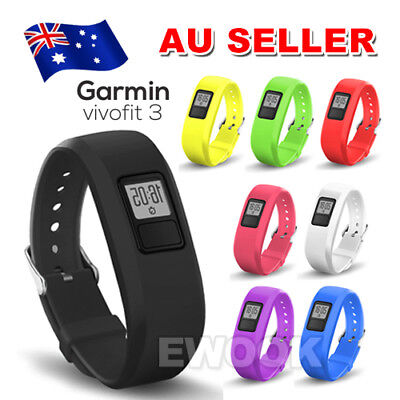 Replacement Wrist Band Strap With Metal Buckle For Garmin Vivofit 3 Bracelet