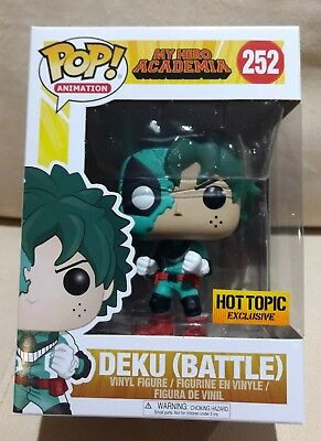 NEW Funko Pop My Hero Academia Battle Deku Hot Topic Exclusive IN HAND