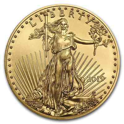 2019 1 oz Gold American Eagle BU - SKU#171251