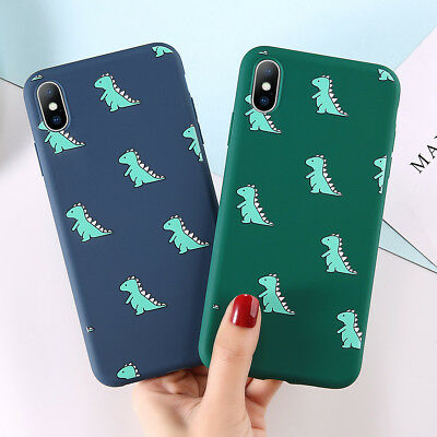 Cute Pattern Ultra Thin Soft Silicone Bumper Case for iPhone XS Max XR 678 Cover