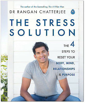 The Stress Solution - Dr Rangan Chatterjee PAPERBACK *BRAND NEW*