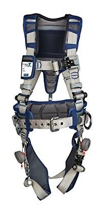 3M DBI-SALA ExoFit Construction Style Positioning Harness - XL, Blue