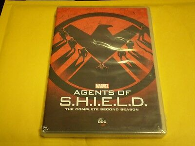 Marvel: Agents of S.H.I.E.L.D.: The Complete Second Season (4 DVD Set, 2016) NEW