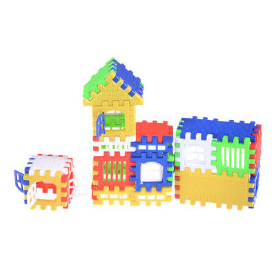 44pcs Baby Kids House Building Educational Learning Construction Toy H&P
