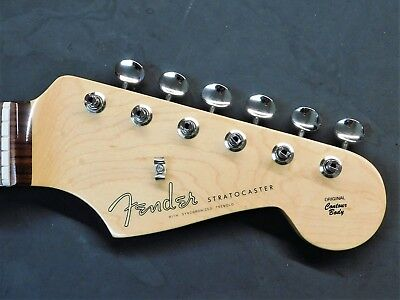 2016 Fender Classic Player Vintage 60's RI Strat NECK & TUNERS Rosewood Guitar