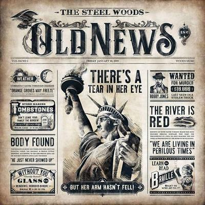 The Steel Woods - Old News CD ALBUM  NEW