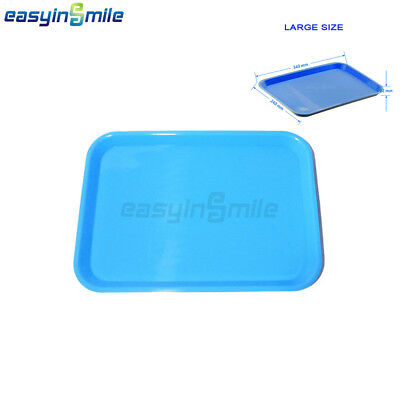 Easyinsmile 1Pc Dental Instrument Tray Autoclave Flat Medical Dish 340*240*22mm