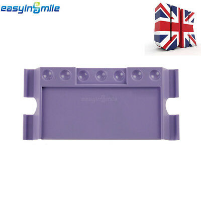 Easyinsmile 1Pc/Pack Dental Mixing Stand Table  With 7 Holes Autoclavable Purple