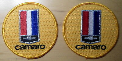 """Camaro 2   Patches   3""""  Diameter  New Condition     Free Shipping"""