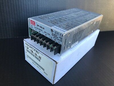 Mean Well SP-150-24 Enclosed Power Supply New 24V 6.3A 150W (A1)