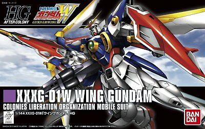 Bandai Hobby HGAC #162 XXXG-01W Wing Gundam HG 1/144 Scale Model Kit USA Seller