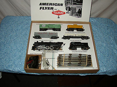 AMERICAN FLYER REPRO FRONTIERSMAN SET BOX ONLY FOR 3 CARS  NO TRAINS OR CARS