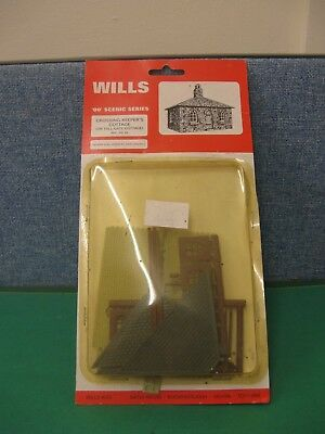Wills SS39 OO Crossing Keeper's/ Toll-Gate Cottage - Plastic Kit *New - ex-Shop*