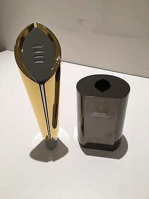 """Pre-Order 12""""h Metal Replica College Football National Championship Trophy"""