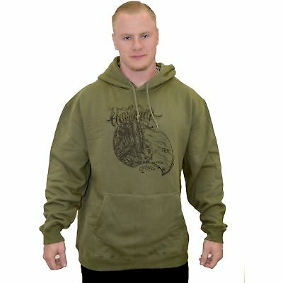 Inked Paradise Pullover Hoodie Humboldt Clothing Co Nature Trees Redwoods Ocean