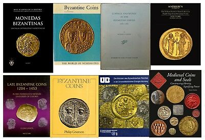 Byzantine empire coins money catalog in PDF format - Price Is For all 8