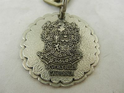 Vintage Beverly Wilshire Hotel California Room 260 Key With Key Chain Fob