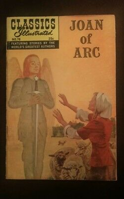 Classic Illustrated #78 High Grade Issue- Joan of Arc HRN 166