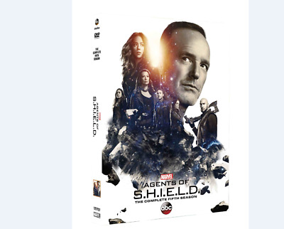 Marvel Agents Of Shield Season 5 DVD Brand New & Sealed Box Set UK Compatible