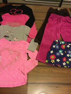Lot Of Girls Size S 5/6 5 & 5T Fall Winter Clothes