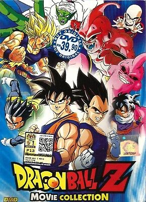 Anime DVD Dragon Ball Z 18 Movies Collection Animation English Audio Box Set LP