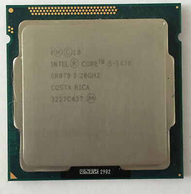 Intel Core i5 3470 3.20 GHz Quad-Core Processor CPU LGA 1155 Socket