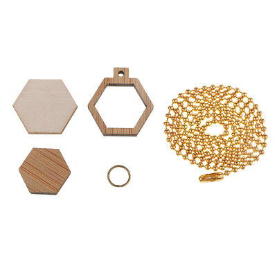 Mini Wooden Cross Stitch Hoop Ring Embroidery Frame for DIY Jewelry Making
