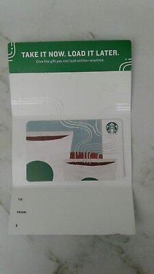 Starbucks Take Now. Load it Later Gift Card, 2018, Collectible, Mint