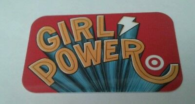 Target GIRL POWER Gift Card, Collectible, Mint