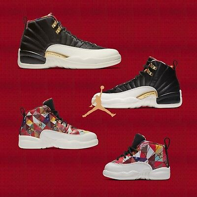 Air Jordan 12 Retro CNY 2019 Chinese New Year Pack AJ12 Mens Womens Kids Youth