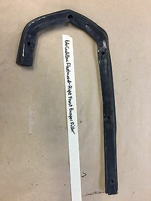 66 Cadillac Deville RIGHT PASS. FENDER TO FRONT BUMPER END RUBBER FILLER PANEL