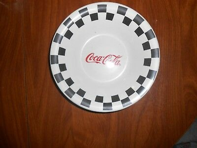 "4 1996 Coca Cola 8"" bowls by Gibson Checkerboard Pattern"