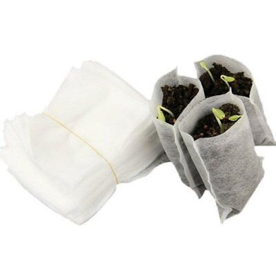 100Pcs Non-Woven Seedling Bag Planting Bag Nutrition Bag Gardening Supplies QW