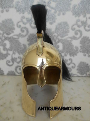 Collectibles Roman Troy Trojan Helmet Greek Armour Roleplay Troy Helmet Giftable