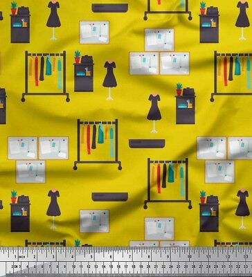Soimoi Fabric Notice Board & Clothes Fashion Print Fabric by Meter-FS-526H