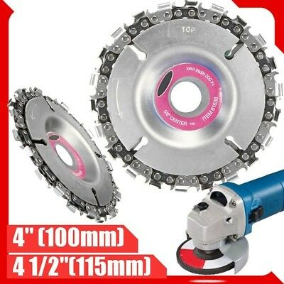 Saw Blades Plate Angle Grinding Chain Wheel Wood Carving Disc For Grinder UKLH