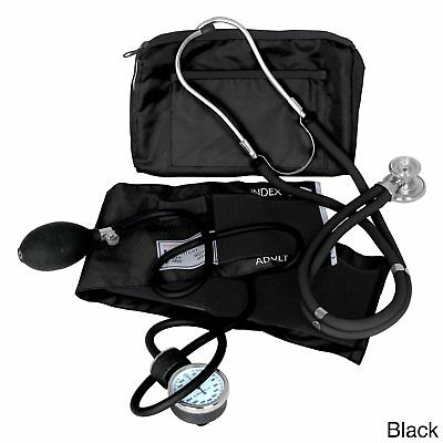 Sprague Rappaport Stethoscope & Manual Blood Pressure Sphygmomanometer Cuff Set