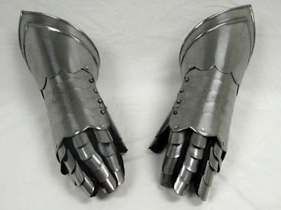 Medieval Knight Gauntlets Functional Armor Gloves Adult Medieval SCA LARP Gift